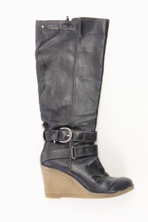 Tom Tailor High-Heel Stiefel Größe 37 schwarz