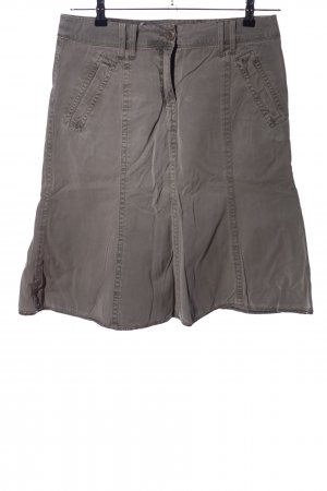 Tom Tailor High Waist Rock hellgrau Casual-Look