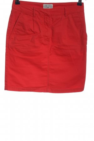 Tom Tailor High Waist Rock rot Casual-Look