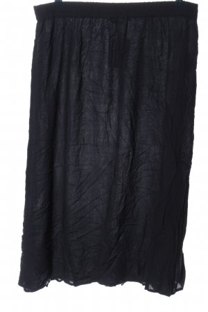 Tom Tailor Jupe taille haute noir style décontracté