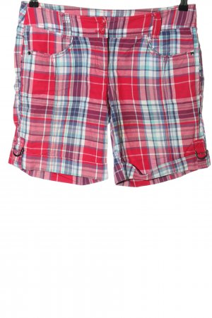 Tom Tailor High-Waist-Shorts Allover-Druck Casual-Look