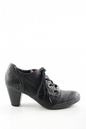 Tom Tailor Hochfront-Pumps schwarz Casual-Look
