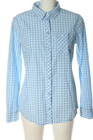 Tom Tailor Koszula w kratę niebieski-biały Na całej powierzchni Elegancki