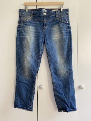 Tom Tailor Denim Jeans 7/8 bleu foncé-bleu