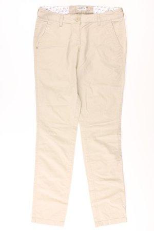 Tom Tailor Hose Größe 34 creme aus Baumwolle