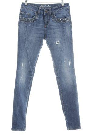 Tom Tailor Hüfthose dunkelblau Jeans-Optik