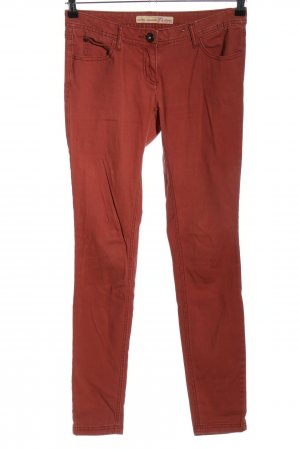 Tom Tailor Slim Jeans rot Casual-Look