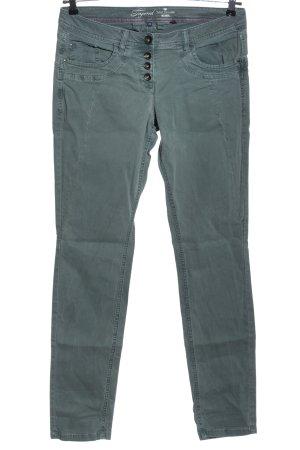 Tom Tailor Jeansy biodrówki niebieski W stylu casual