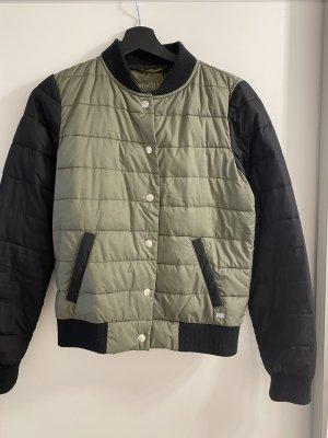 Tom Tailor Denim College Jacket black-olive green