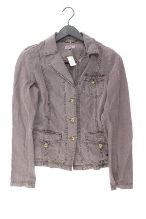 Tom Tailor Jacke Größe 38 braun aus Baumwolle