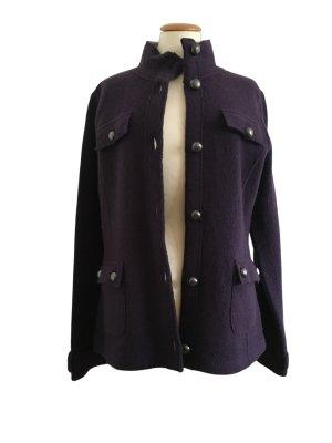 Tom Tailor Wełniany sweter ciemny fiolet