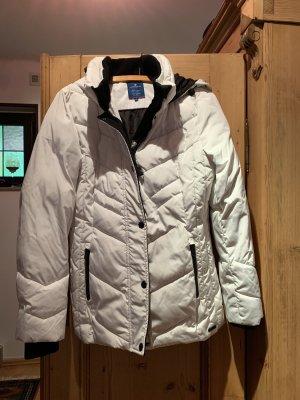 Tom Tailor Jacke Winterjacke weiß/schwarz
