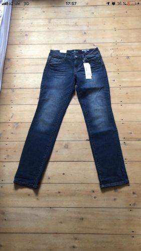 Tom Tailor Jeans slim bleu foncé