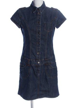 Tom Tailor Robe en jean bleu style d'affaires