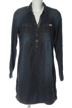 Tom Tailor Jeanskleid blau Casual-Look
