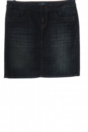 Tom Tailor Jeansrock schwarz Casual-Look