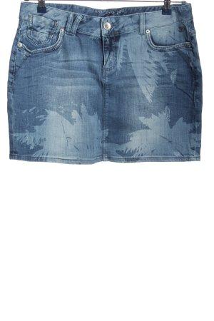 Tom Tailor Jeansrock blau-türkis Casual-Look