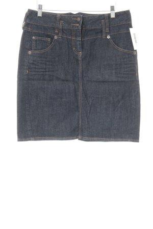 Tom Tailor Jeansrock dunkelblau Casual-Look