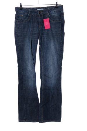 Tom Tailor Jeans flare bleu style décontracté