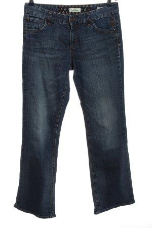 Tom Tailor Jeansschlaghose blau Casual-Look