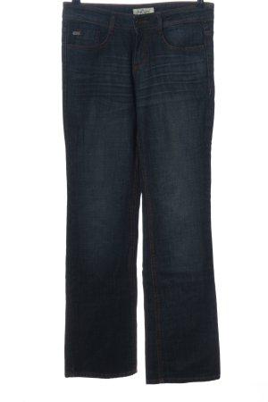 Tom Tailor Jeansowe spodnie dzwony niebieski W stylu casual