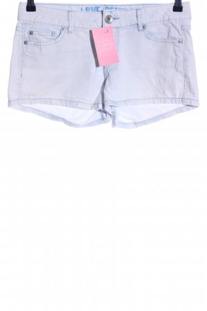 Tom Tailor Jeansshorts weiß Casual-Look