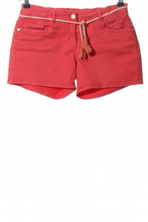 Tom Tailor Jeansshorts rot Casual-Look