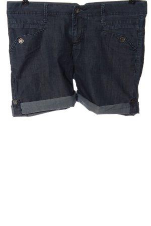 Tom Tailor Pantalón corto de tela vaquera azul look casual