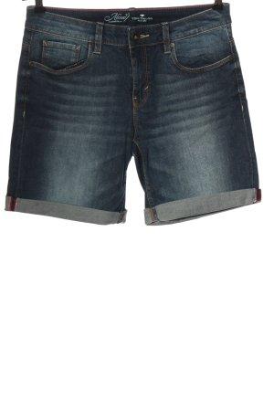 Tom Tailor Short en jean bleu style décontracté