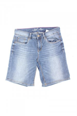 Tom Tailor Jeansshorts Größe W27 blau aus Baumwolle
