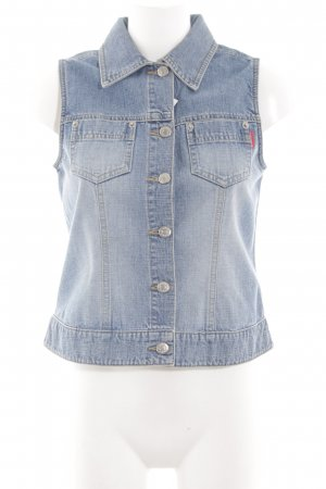 Tom Tailor Jeansweste blau Casual-Look