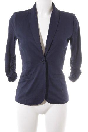 Tom Tailor Jerseyblazer dunkelblau Business-Look