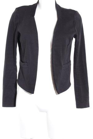 Tom Tailor Jerseyblazer schwarz Casual-Look