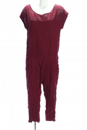 Tom Tailor Jumpsuit rot Casual-Look