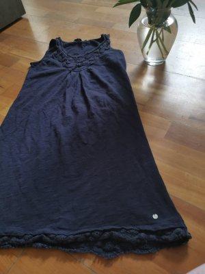 """Tom Tailor Kleid """"used"""" blau, Größe S 36"""