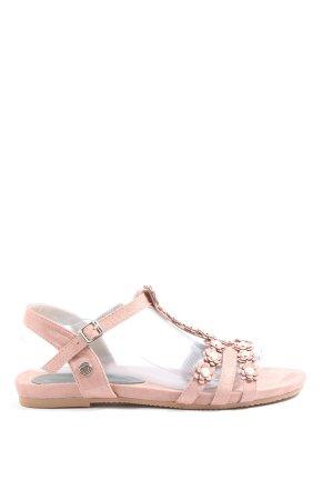 Tom Tailor Komfort-Sandalen pink Casual-Look