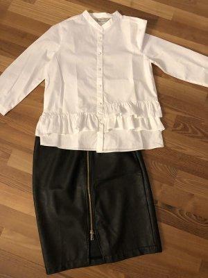 Tom Tailor Leather Skirt black imitation leather