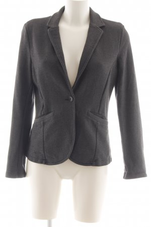 Tom Tailor Kurz-Blazer hellgrau Webmuster Business-Look