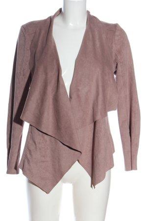 Tom Tailor Korte blazer roze gestippeld casual uitstraling
