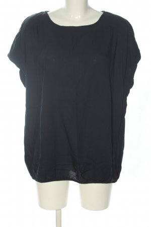 Tom Tailor Kurzarm-Bluse schwarz Casual-Look
