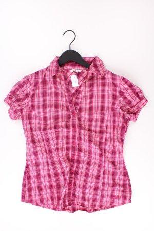 Tom Tailor Kurzarmbluse Größe 40 pink aus Baumwolle