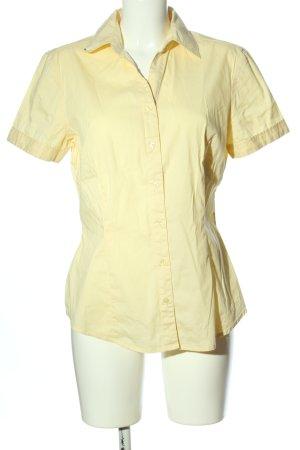 Tom Tailor Kurzarmhemd blassgelb Casual-Look