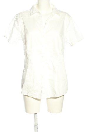 Tom Tailor Kurzarmhemd weiß Business-Look