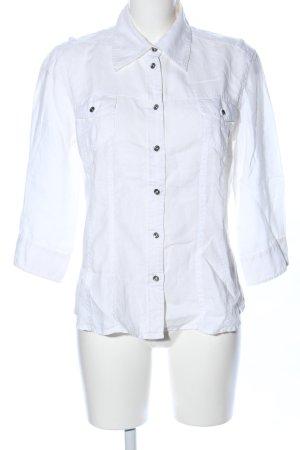 Tom Tailor Camisa de manga corta blanco estilo «business»