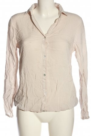 Tom Tailor Langarm-Bluse wollweiß Casual-Look