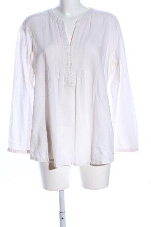 Tom Tailor Langarm-Bluse weiß Elegant