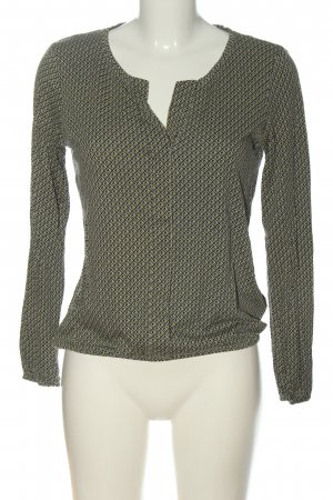 Tom Tailor Langarm-Bluse Allover-Druck Casual-Look