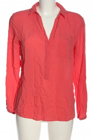 Tom Tailor Langarm-Bluse pink Casual-Look
