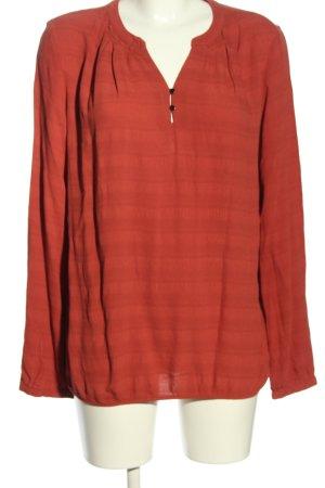 Tom Tailor Langarm-Bluse bronzefarben Elegant
