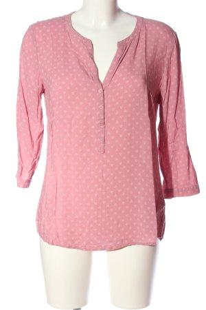 Tom Tailor Blouse met lange mouwen roze-lichtgrijs volledige print